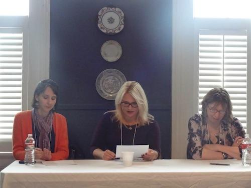 A reading by Eva Langston, Melanie Neale McLendon, and Lynne Barrett