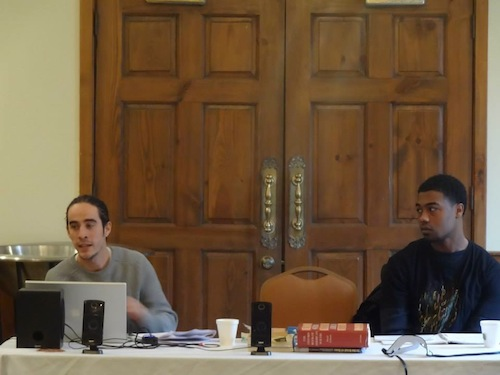 Nate Kostar and Tyler Whittenberg debate the Poetics of Hip Hop