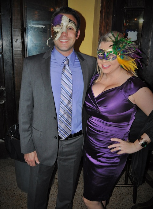 In New Orleans, dressing up always works.  (photo credit Matt Peters)